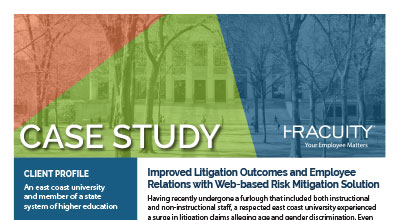 Case Study: Improving Litigation Outcomes and Employee Relations with HR Acuity