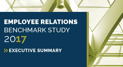 The 2017 HR Acuity Employee Relations Benchmark Study: Executive Summary