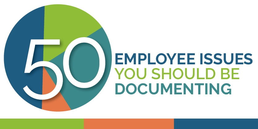 50 Employee Relations Issues to Document