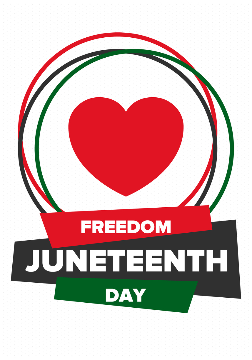 Juneteenth small flag