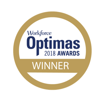 Workforce 2018 Optimas Awards Gold Winner for Partnership