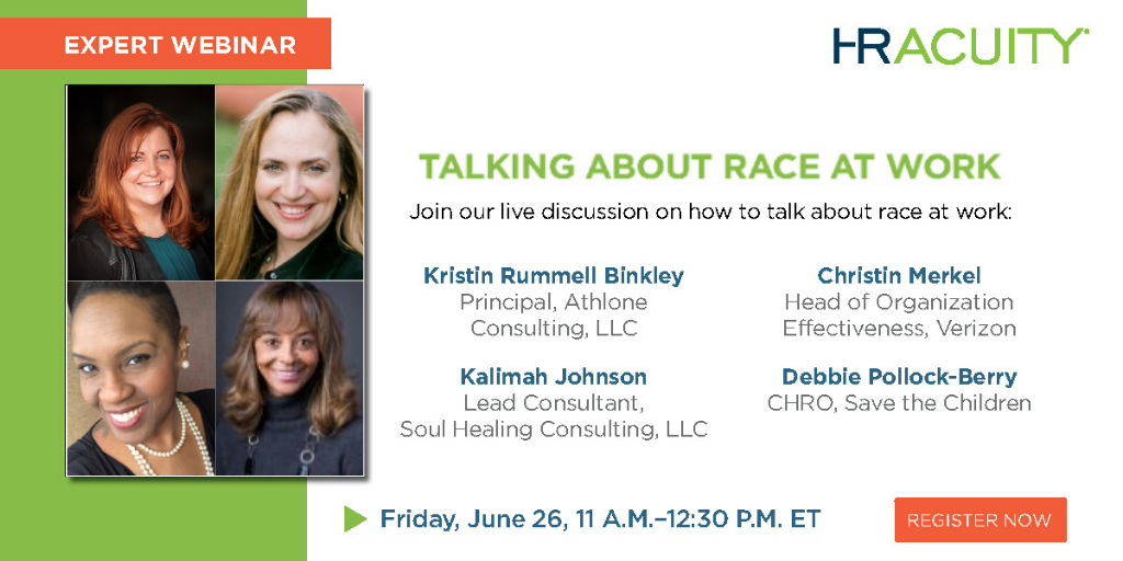 On Demand Webinar: Talking About Race at Work