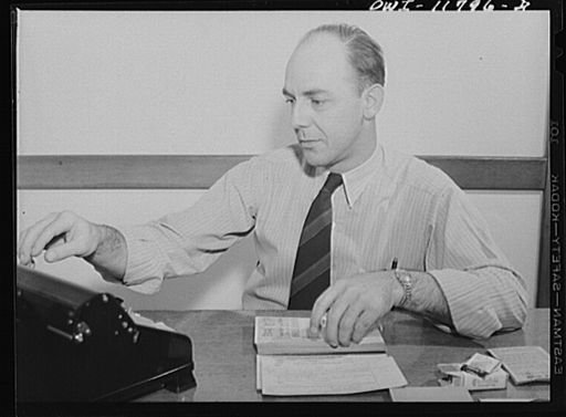 Raymond Runk accountant at the Animal Trap Company